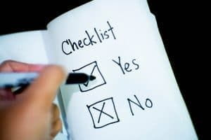 Checklist for Common Law Marriage