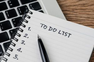 To Do List, Checklist Of Things Or Tasks To Complete For Life Ha
