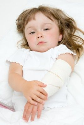 Burn injuries can be especially painful to young children.