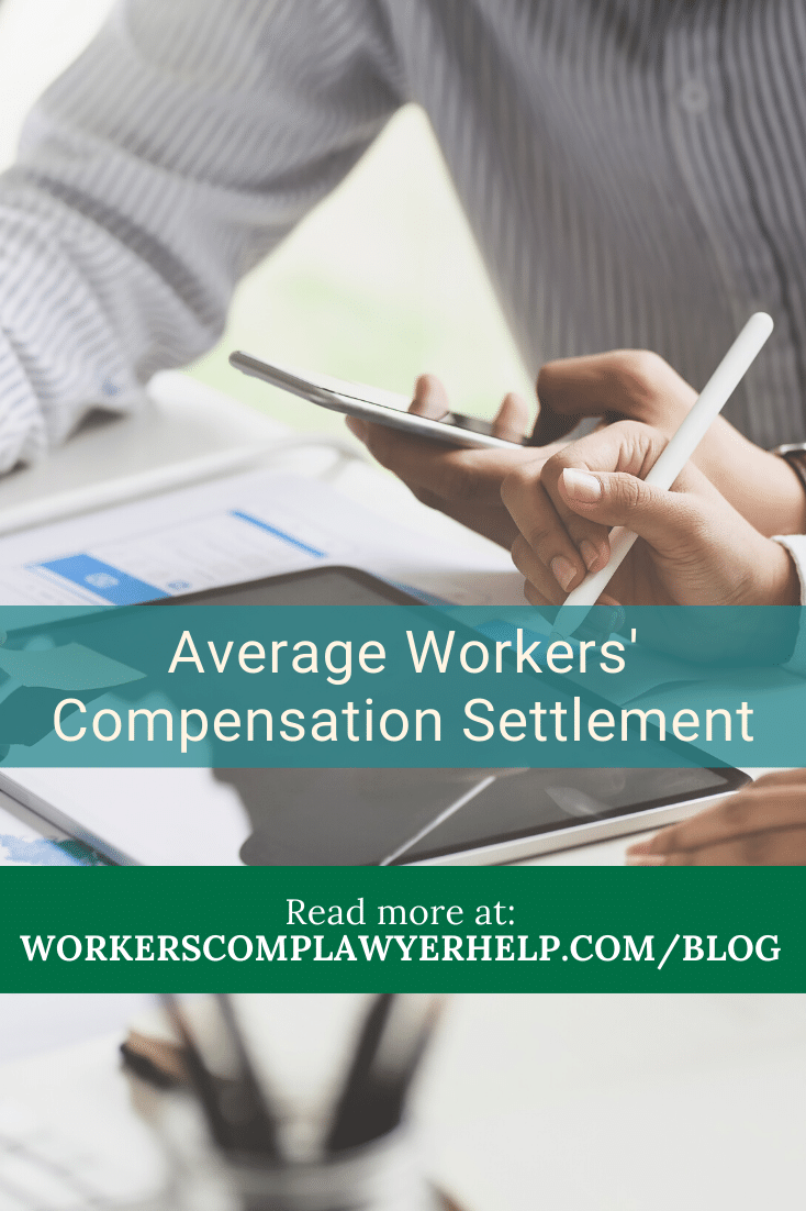 Average Workers' Comp Settlement Amount In Michigan For 2019