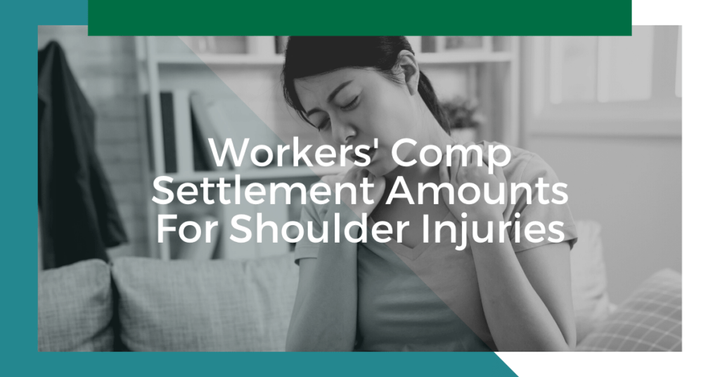 Workers' Comp Settlement Amounts For Shoulder Injury in Michigan