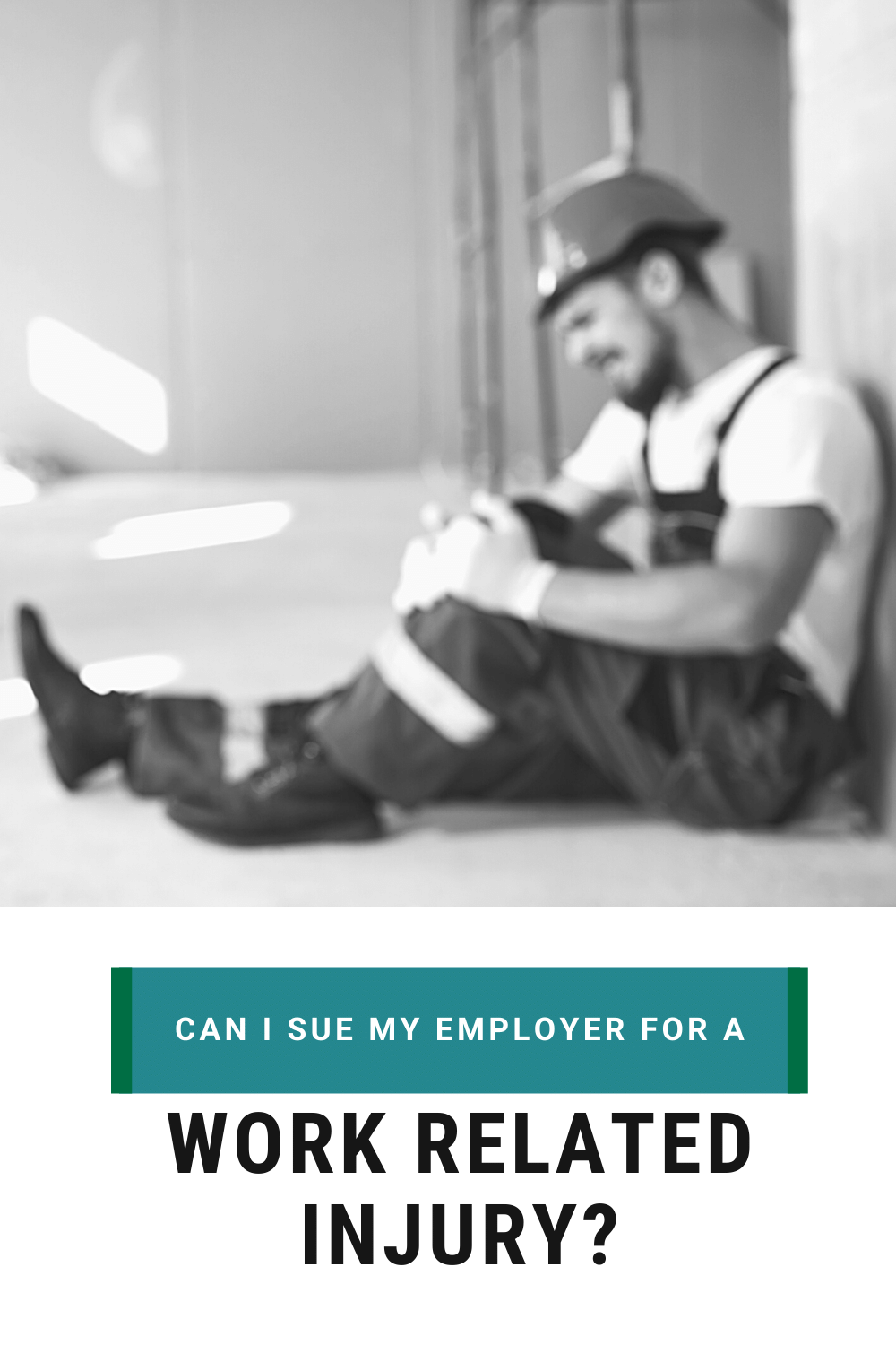 Can I Sue My Employer For A Work Related Injury?
