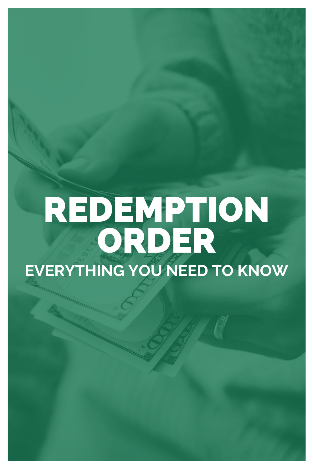 Redemption Order: Everything You Need To Know