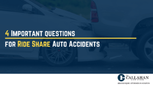 4 important questions for ride share auto accidents