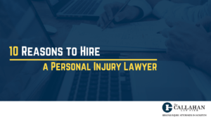 10 reasons to hire a personal injury lawyer