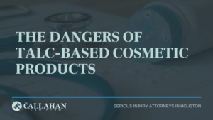 the dangers of talc-based cosmetic products