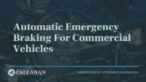 automatic emergency braking for commercial vehicles