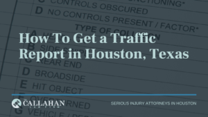 how to get a traffic report in houston, texas