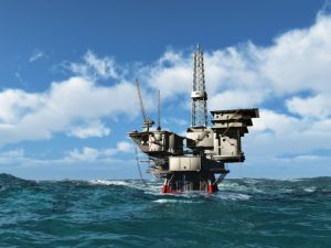 offshore oil well