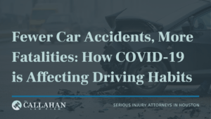 fewer car accidents, more fatalities: how covid-19 is affecting driving habits