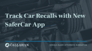 car recalls safercar app