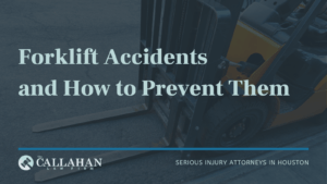 forklift accidents and how to prevent them