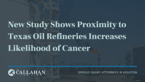 oil refineries cancer