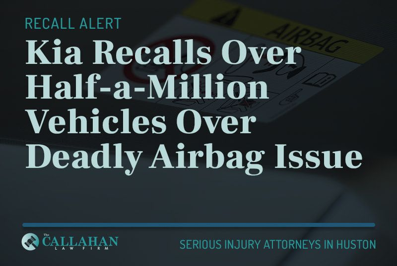 kia recalls over half-a-million vehicles over deadly airbag issue