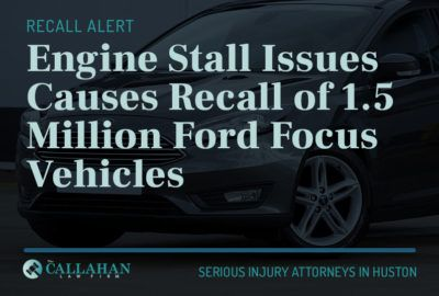 engine stall issues causes recall of 1.5 million ford focus vehicles