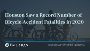 bicycle accident fatalities Houston title