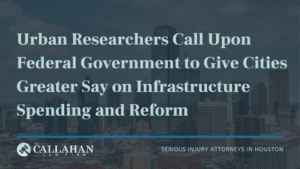 Urban Researchers Call Upon Federal Government to Give Cities Greater Say on Infrastructure Spending and Reform