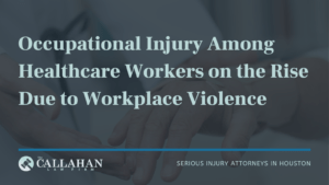 occupational injury among healthcare workers on the rise due to workplace violence