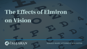 The Effects of Elmiron on Vision