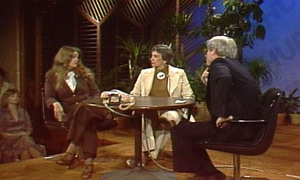 Flora Stuart on Phil Donahue and Good Morning America