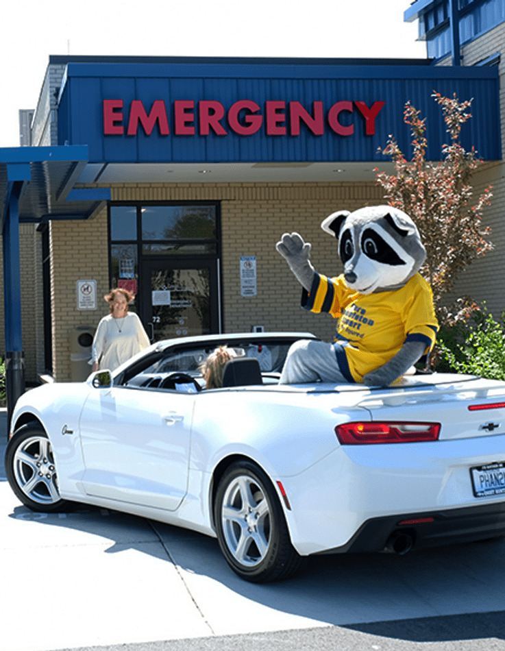 Poppy's Wave Parade Delivers Supplies To Logan Memorial Hospital