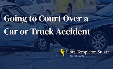 What Happens If We Go To Court Over a Car Accident