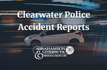 How to Get Your Clearwater Accident Report