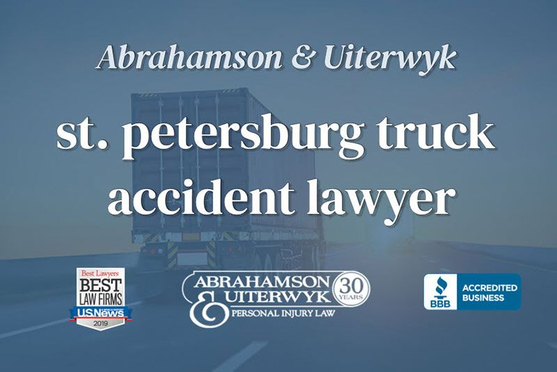 St. Petersburg Truck Accident Lawyer