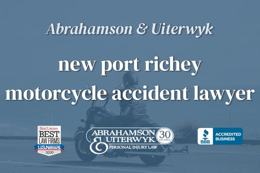 new port richey motorcycle lawyer
