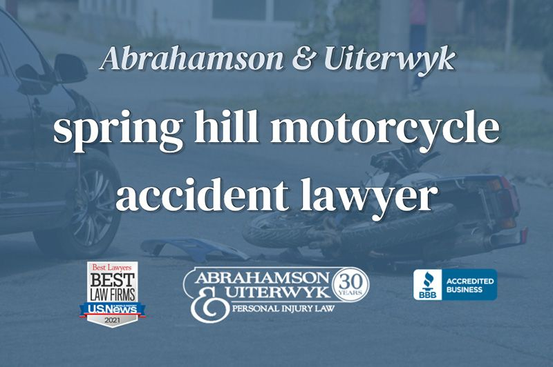 spring hill motorcycle accident lawyer