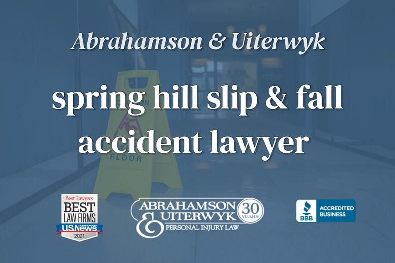 spring hill slip and fall lawyer