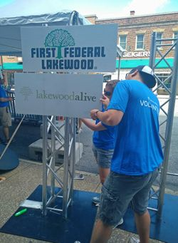 Lakewood Summer Meltdown Volunteers
