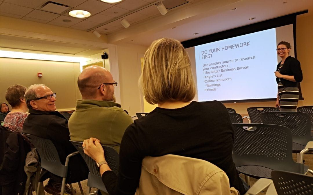 """Five Key Takeaways from LakewoodAlive's """"Knowing Your Home: How to Contract a Repair"""" Workshop"""