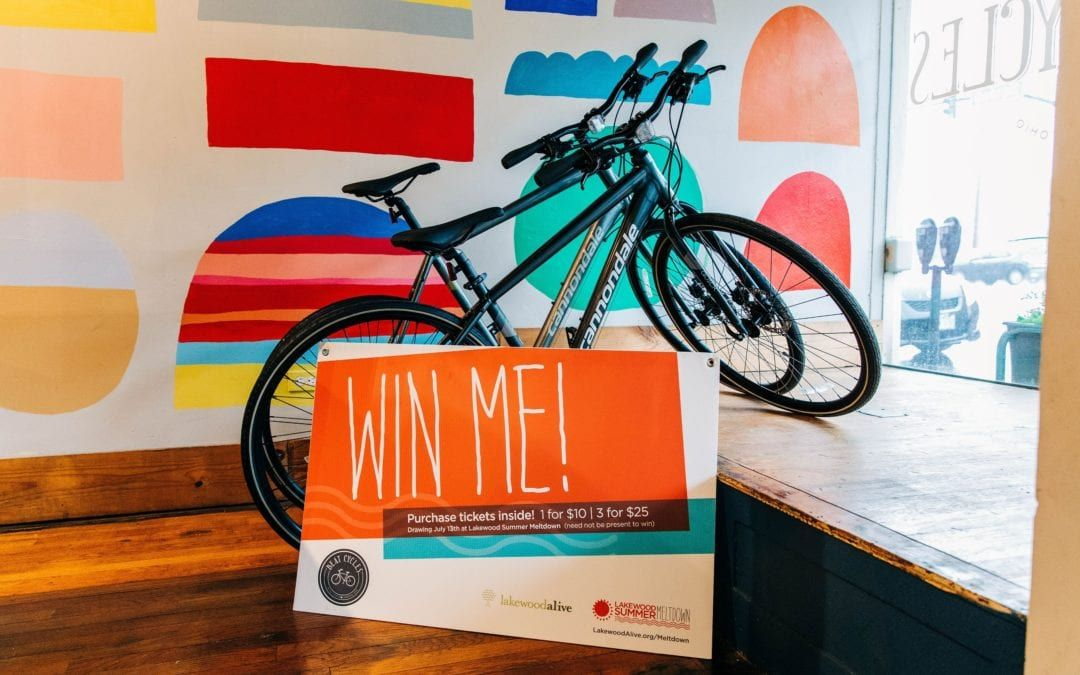 LakewoodAlive Announces 3rd Annual Summer Meltdown Bike Raffle with Beat Cycles