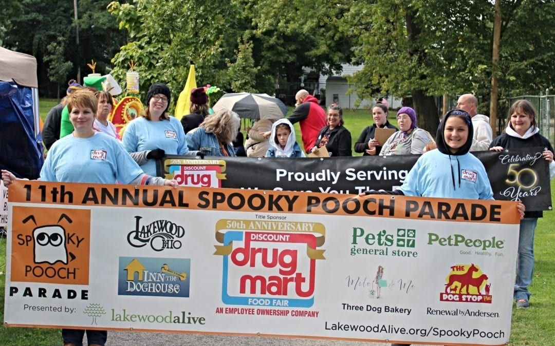 Discount Drug Mart Named Title Sponsor for LakewoodAlive's 12th Annual Spooky Pooch Parade
