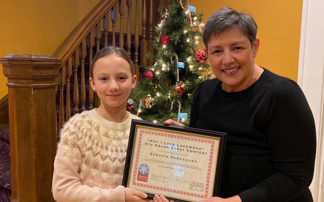 Lakewood Chamber of Commerce Announces 4th Grade Essay Contest Winner