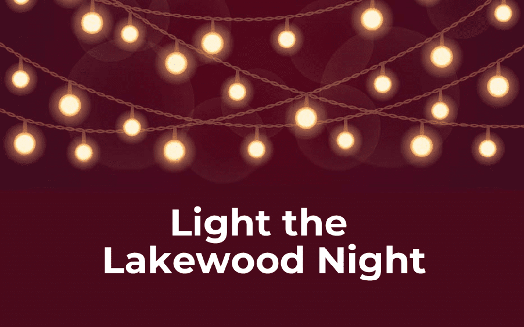 """LakewoodAlive Launches """"Light the Lakewood Night"""" Community Solidarity Event"""