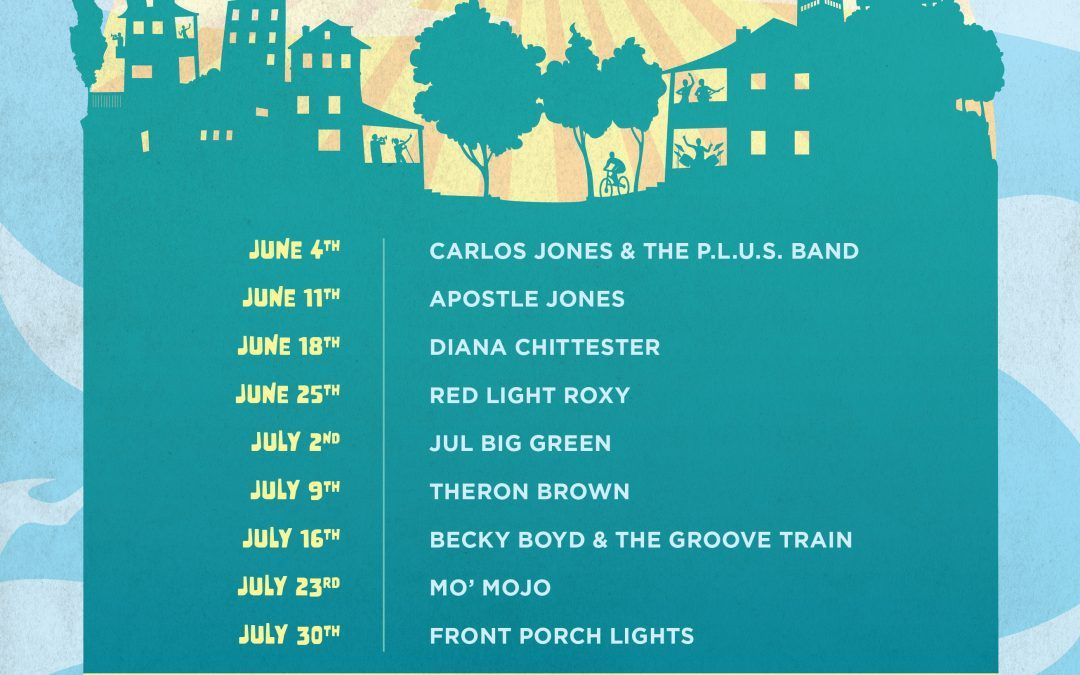 LakewoodAlive's 2021 Virtual Front Porch Concert Series Performers Announced