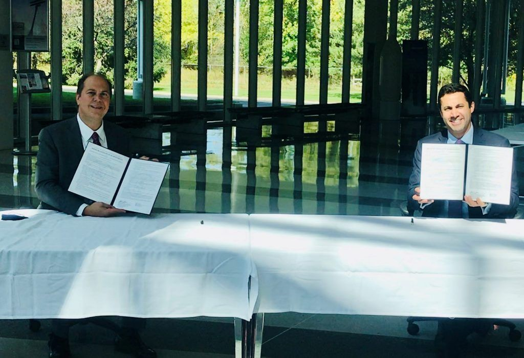 MOU between Ohio Aerospace Institute and International Trade Administration