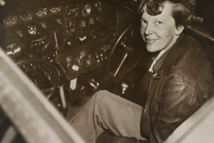 Legendary flier Amelia Earhart brought glamour and influence to early Cleveland aviation