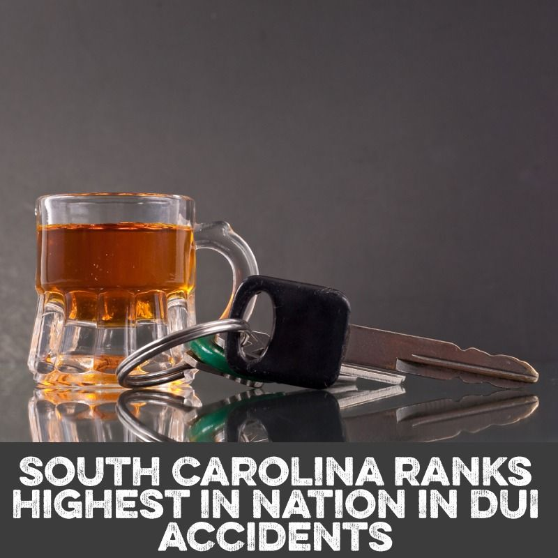 SC Ranks highest in DUI related accidents