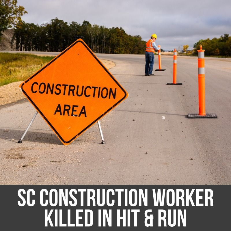 construction worker killed in hit and run accident