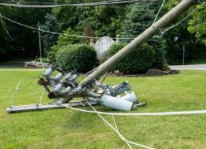 Power lines down Greenville SC