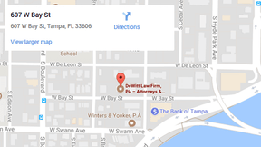dewitt law firm tampa offices directions