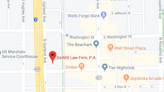 dewitt law firm orlando offices directions