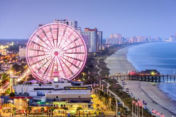 Image of personal injury lawyer David Aylor's office location in Myrtle Beach SC