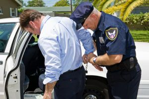 A man is arrested for DUI or DWI in Columbia.