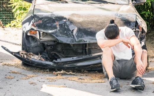 auto wreck injury claim lawyer in California