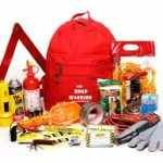 Car accident supply kit