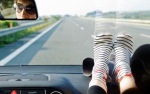 Feet on the Dashboard | Car Accident Lawyer